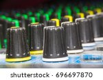 control buttons for electronic... | Shutterstock . vector #696697870