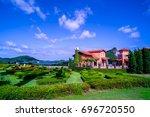 vineyard silverlake are the... | Shutterstock . vector #696720550