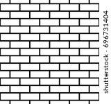 Seamless Brick Wall Background...