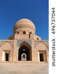 Small photo of Iran. Kashan. Agha Bozorg mosque. View from the backyard.