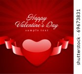 valentine's day vector...   Shutterstock .eps vector #69673831