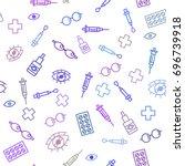 vector medical illustration.... | Shutterstock .eps vector #696739918