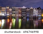 Colored Homes On The Water In...