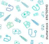 vector medical illustration.... | Shutterstock .eps vector #696750940