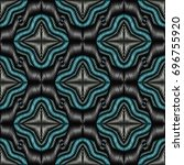 embroidery colorful pattern... | Shutterstock .eps vector #696755920