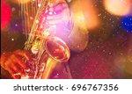 jazz. | Shutterstock . vector #696767356