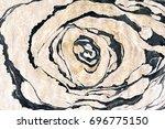 golden and black marble... | Shutterstock . vector #696775150