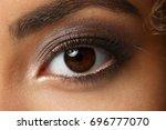 Eye Of A Black Woman Shot Large ...