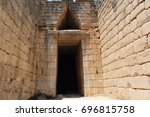 Small photo of Tomb of Agamemnon in Greece