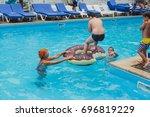 odessa  ukraine august 6  2017  ...   Shutterstock . vector #696819229
