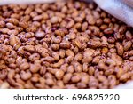 bean is a common name for large ... | Shutterstock . vector #696825220