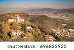 View Of The Hills Of Montecchio ...