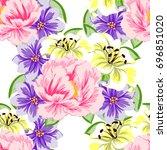 abstract elegance seamless...   Shutterstock . vector #696851020