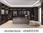 3d rendering minimal... | Shutterstock . vector #696855190
