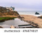 Ruins Of The Sutro Baths On A...