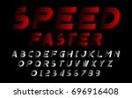 speed faster motion red set