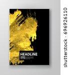 vector black and gold design... | Shutterstock .eps vector #696926110