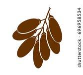 fruit date logo   Shutterstock .eps vector #696958534