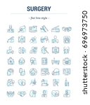 vector graphic set.isolated... | Shutterstock .eps vector #696973750