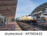 lynx central station  sunrail... | Shutterstock . vector #697002610
