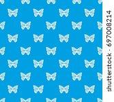 stripped butterfly pattern...   Shutterstock .eps vector #697008214