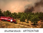 Fire Truck To Put Out A Forest...