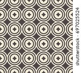 abstract seamless pattern.... | Shutterstock .eps vector #697025524