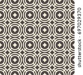 abstract seamless pattern.... | Shutterstock .eps vector #697029370