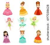 cartoon funny fantasy...   Shutterstock .eps vector #697038628