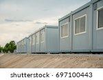 Mobile Building In Industrial...