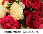 flowers bouquet | Shutterstock . vector #697216876