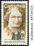 canada   circa 2010  stamp...   Shutterstock . vector #69724723