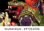 aomori  japan   february 16... | Shutterstock . vector #697261036