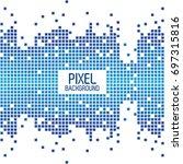 pixel background text design...