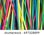 colorful | Shutterstock . vector #697328899