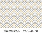 colorful striped horizontal...   Shutterstock . vector #697360870