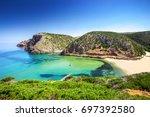 Cala Domestica Beach  Sardinia...