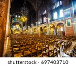 london  uk   circa june 2017 ... | Shutterstock . vector #697403710