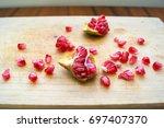 Small photo of pomegranate pommegrenade apple of Grenada