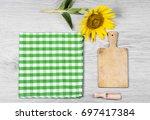 sunflower seeds | Shutterstock . vector #697417384