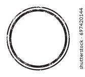 grunge stamp draft mockups.... | Shutterstock .eps vector #697420144