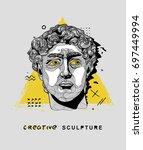 creative modern classical... | Shutterstock .eps vector #697449994