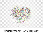 vector realistic isolated... | Shutterstock .eps vector #697481989
