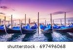 venice at sunrise | Shutterstock . vector #697496068