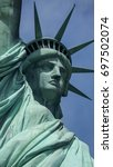 statue of liberty | Shutterstock . vector #697502074