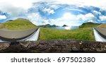 360 degrees spherical panorama... | Shutterstock . vector #697502380