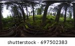 360 degrees spherical panorama... | Shutterstock . vector #697502383
