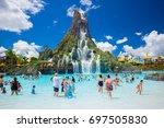 usa. florida. orlando. august ... | Shutterstock . vector #697505830