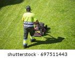 Mower Lawnmower  And Gardener...