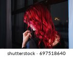 Beautiful Girl With Red Hair...